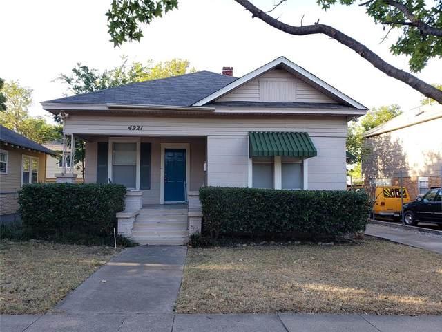 4921 El Campo Avenue, Fort Worth, TX 76107 (MLS #14677617) :: Frankie Arthur Real Estate