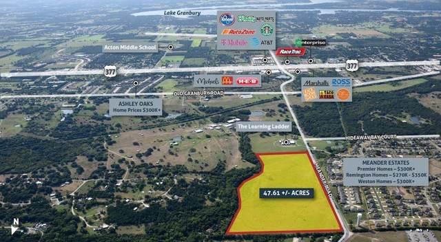 601 Meander Road, Granbury, TX 76049 (MLS #14677943) :: The Tierny Jordan Network