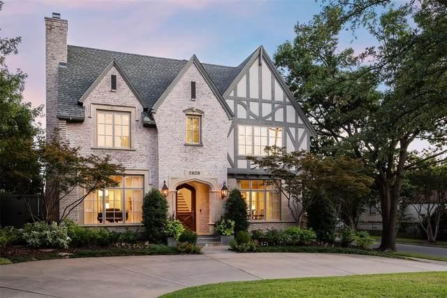 2829 Amherst Avenue, University Park, TX 75225 (MLS #14677997) :: Real Estate By Design