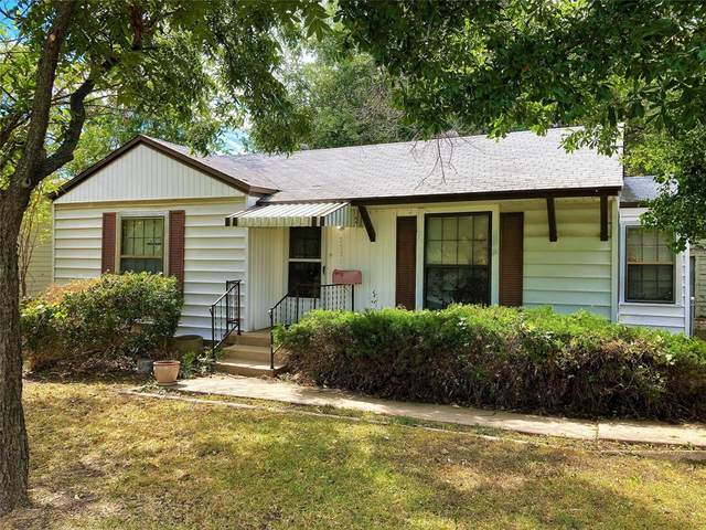 2321 Bonnie Brae Avenue, Fort Worth, TX 76111 (MLS #14678215) :: Real Estate By Design