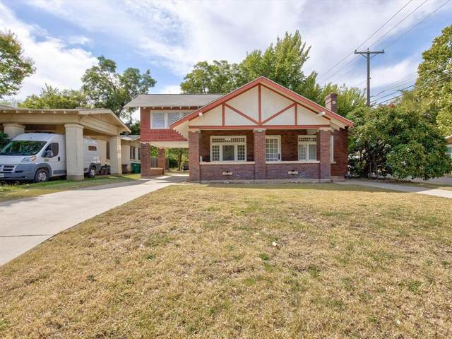 3200 College Avenue, Fort Worth, TX 76110 (MLS #14678277) :: All Cities USA Realty