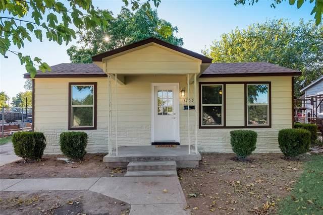 3709 N Houston Street, Fort Worth, TX 76106 (MLS #14678426) :: Robbins Real Estate Group
