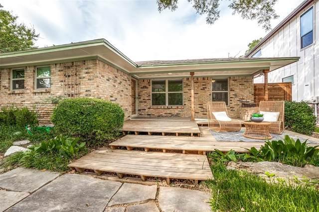 6503 Lake Circle Drive, Dallas, TX 75214 (MLS #14678810) :: Craig Properties Group