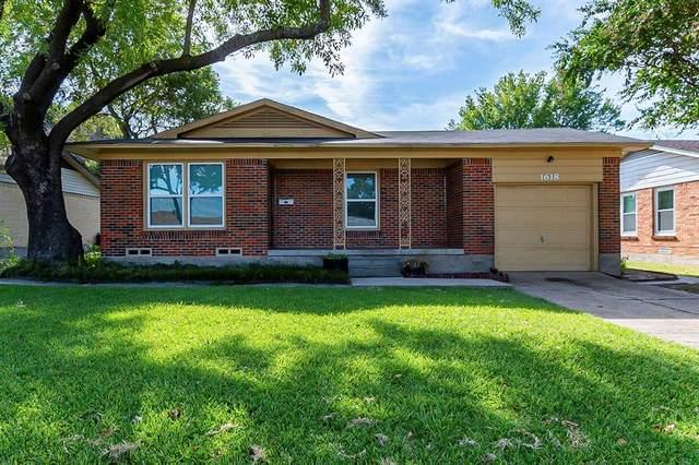 1618 Ridgeview Street, Mesquite, TX 75149 (MLS #14678942) :: Epic Direct Realty