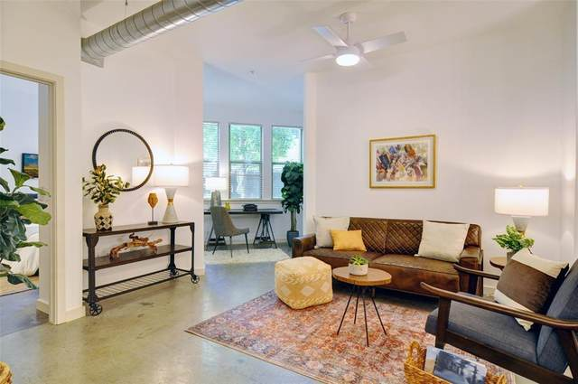 201 W Lancaster Avenue #103, Fort Worth, TX 76102 (MLS #14678970) :: The Mitchell Group