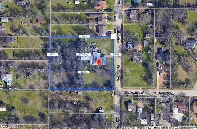 956 Benton Avenue, Fort Worth, TX 76112 (MLS #14679080) :: Real Estate By Design