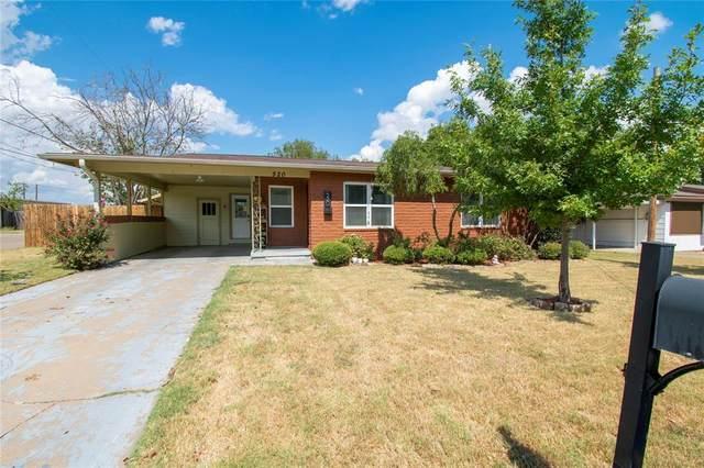 520 W Bluff Street, Granbury, TX 76048 (MLS #14679217) :: Frankie Arthur Real Estate