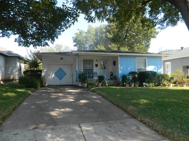 3725 8th Avenue, Fort Worth, TX 76110 (MLS #14679303) :: The Star Team   Rogers Healy and Associates