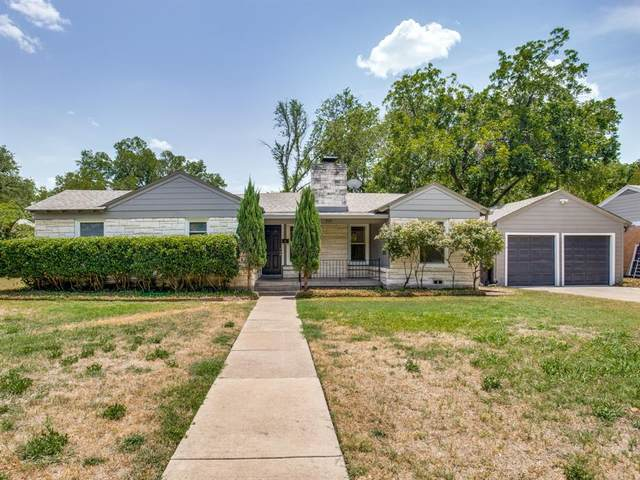 3521 Plymouth Avenue, Fort Worth, TX 76109 (MLS #14679354) :: The Rhodes Team