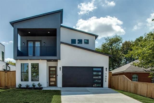 1906 Nomas Street, Dallas, TX 75212 (MLS #14679580) :: Frankie Arthur Real Estate