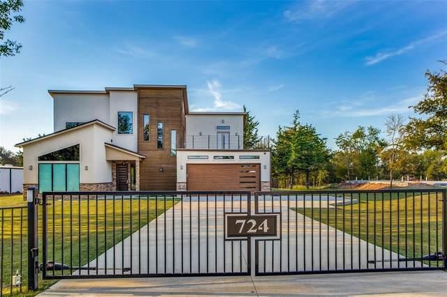 724 Highport Road, Pottsboro, TX 75076 (MLS #14680951) :: Trinity Premier Properties