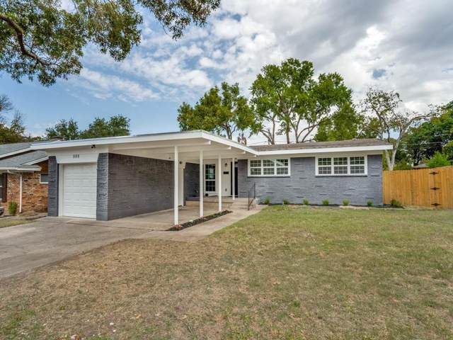 808 Downing Drive, Richardson, TX 75080 (MLS #14681081) :: The Star Team   Rogers Healy and Associates
