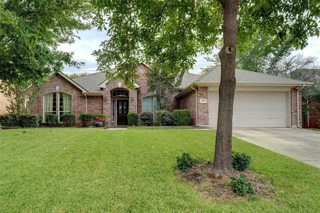 805 Water Oak Drive, Grapevine, TX 76051 (MLS #14681883) :: DFW Select Realty