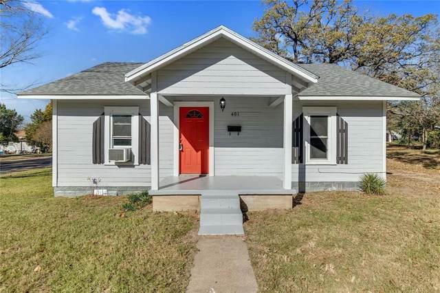 401 Ash Street, Teague, TX 75860 (MLS #14682190) :: Real Estate By Design
