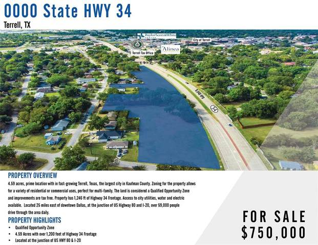 0000 State Highway 34, Terrell, TX 75160 (MLS #14682643) :: The Star Team | Rogers Healy and Associates