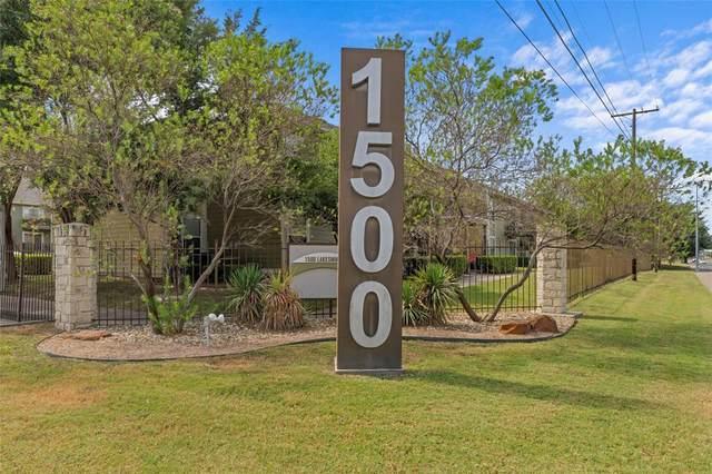 1500 Lake Shore Drive #206, Waco, TX 76708 (MLS #14682838) :: Real Estate By Design