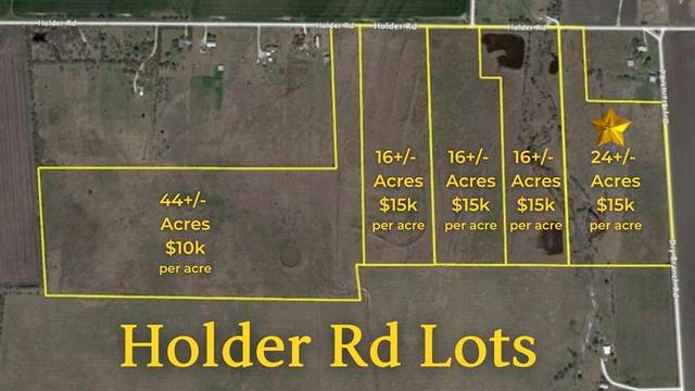 TBD L5 Holder Road, Waxahachie, TX 75165 (MLS #14683454) :: The Star Team | Rogers Healy and Associates