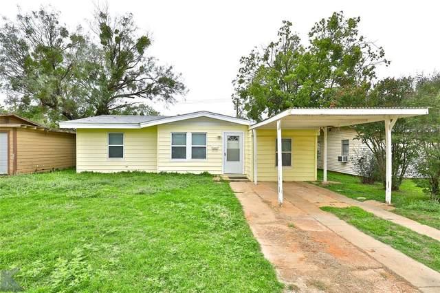 1234 S Crockett Drive, Abilene, TX 79605 (MLS #14683570) :: Epic Direct Realty