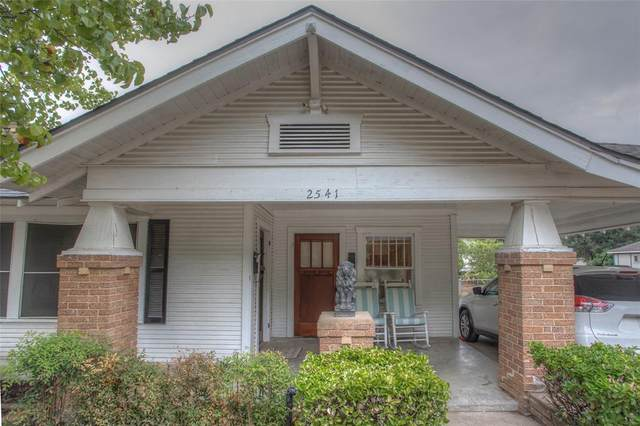 2541 Wabash Avenue, Fort Worth, TX 76109 (MLS #14683820) :: Real Estate By Design