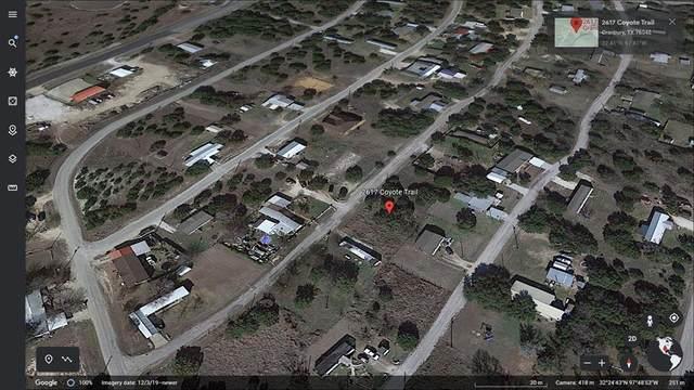 2617 Coyote Trail, Granbury, TX 76048 (MLS #14684918) :: Robbins Real Estate Group
