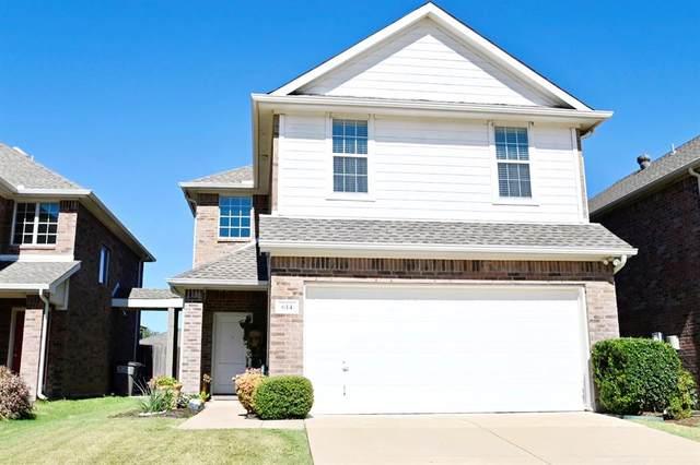 614 Fleming Street, Wylie, TX 75098 (MLS #14685046) :: The Good Home Team