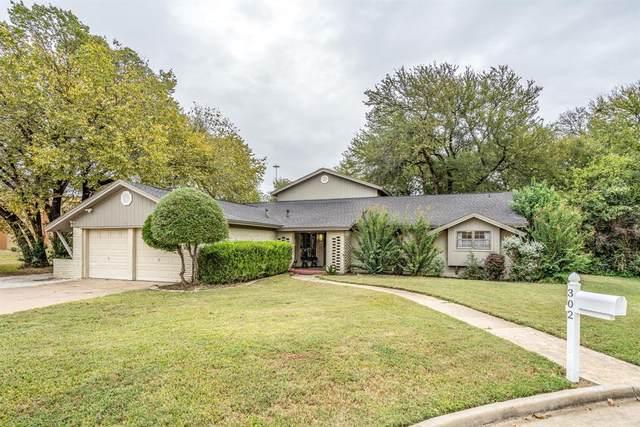 302 Somerset Circle, Bedford, TX 76022 (MLS #14685335) :: 1st Choice Realty