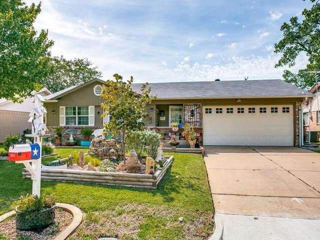 921 Venice Street, Hurst, TX 76053 (MLS #14685346) :: Epic Direct Realty