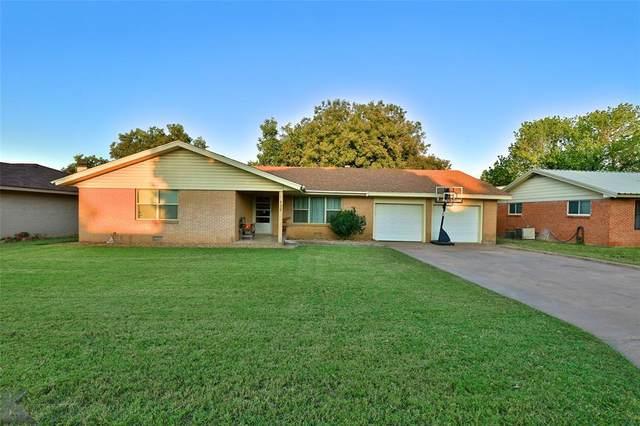 522 Fairmont Street, Clyde, TX 79510 (MLS #14685443) :: The Hornburg Real Estate Group