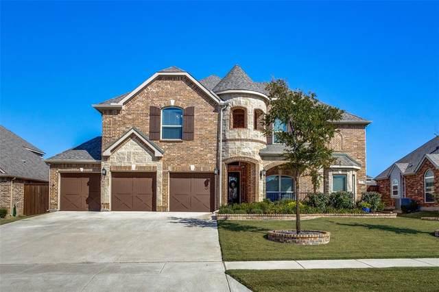 321 Kingsbury Lane, Prosper, TX 75078 (MLS #14685448) :: The Good Home Team
