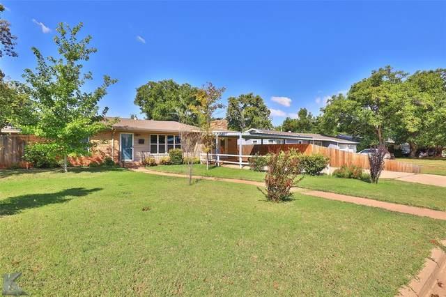 1034 Westridge Drive, Abilene, TX 79605 (MLS #14685718) :: Frankie Arthur Real Estate