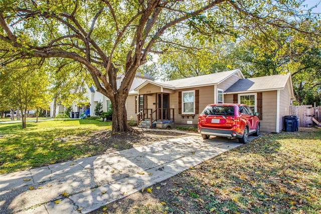 2724 Townsend Drive, Fort Worth, TX 76110 (MLS #14686446) :: The Russell-Rose Team