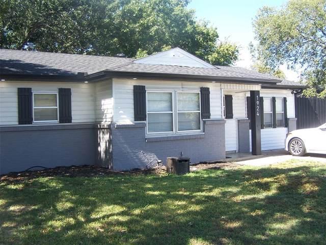 1924 Southridge Drive, Arlington, TX 76010 (MLS #14686864) :: Real Estate By Design