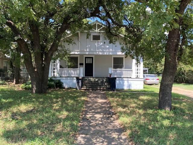 703 E 23rd Street, Cisco, TX 76437 (MLS #14687480) :: Front Real Estate Co.