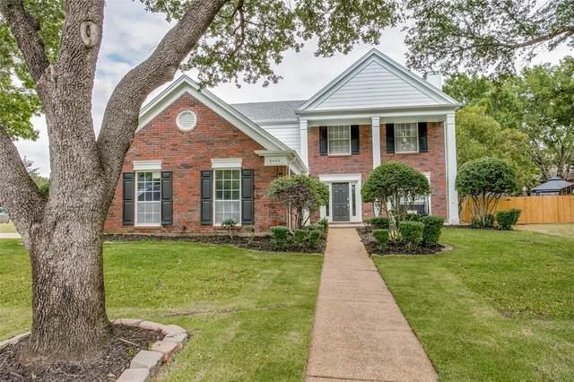 3440 Glade Creek Drive, Hurst, TX 76054 (MLS #14687507) :: Frankie Arthur Real Estate