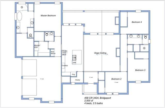 458 County Road 3424, Bridgeport, TX 76426 (MLS #14687559) :: Real Estate By Design