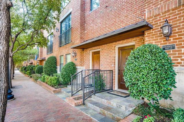 3205 State Street #10, Dallas, TX 75204 (MLS #14687621) :: All Cities USA Realty