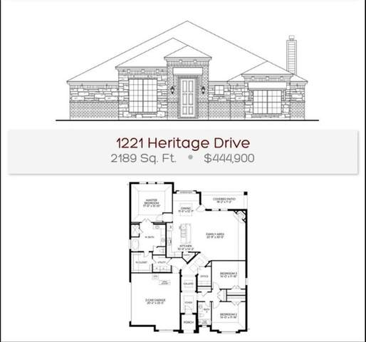 1221 Heritage Drive, Justin, TX 76247 (MLS #14687676) :: Epic Direct Realty