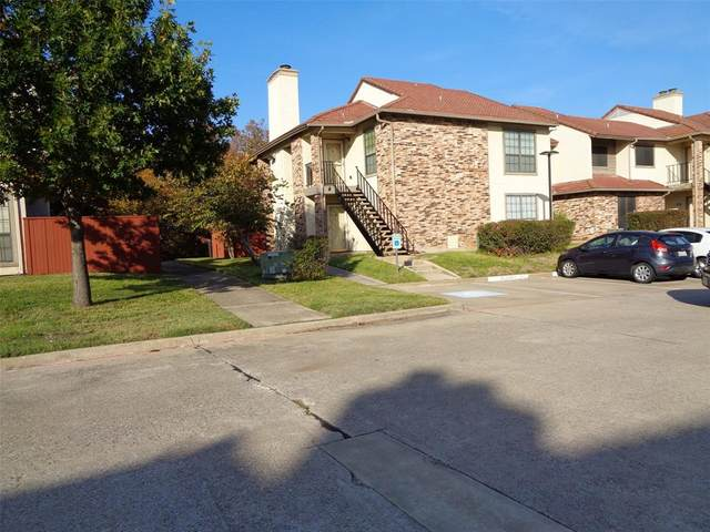 909 Turtle Cove #141, Irving, TX 75060 (MLS #14687697) :: Real Estate By Design
