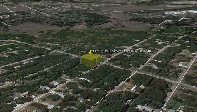 2817 Sycamore Court, Granbury, TX 76048 (MLS #14688029) :: Robbins Real Estate Group