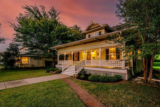 2601 College Avenue, Fort Worth, TX 76110 (MLS #14688123) :: The Russell-Rose Team