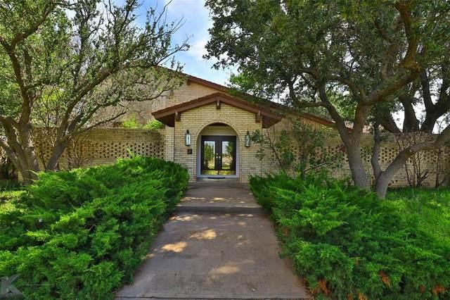79 Avenida De Silva, Abilene, TX 79602 (MLS #14688193) :: Frankie Arthur Real Estate