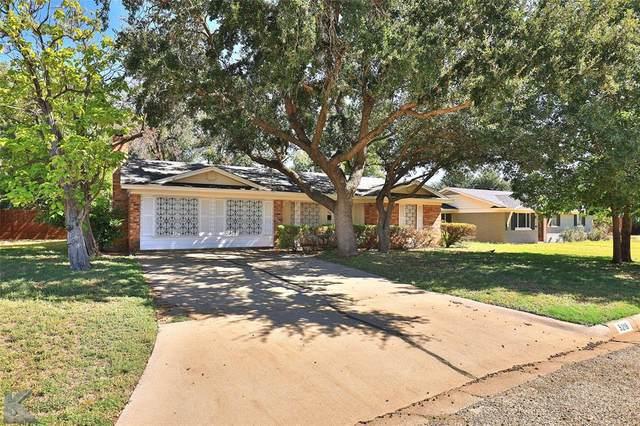 5218 Harwood Street, Abilene, TX 79605 (MLS #14688303) :: Lisa Birdsong Group | Compass
