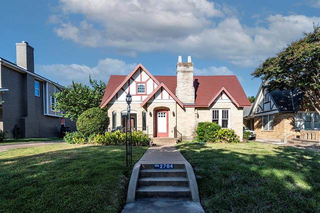 2704 6th Avenue, Fort Worth, TX 76110 (MLS #14688350) :: The Star Team | Rogers Healy and Associates