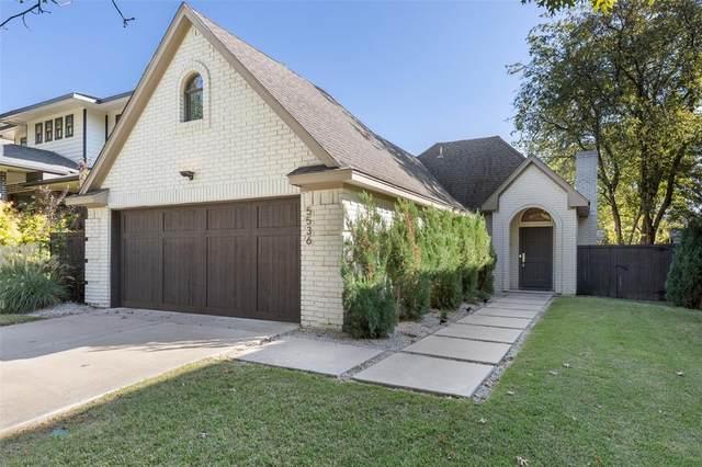 5536 Vickery Boulevard, Dallas, TX 75206 (MLS #14688925) :: Wood Real Estate Group