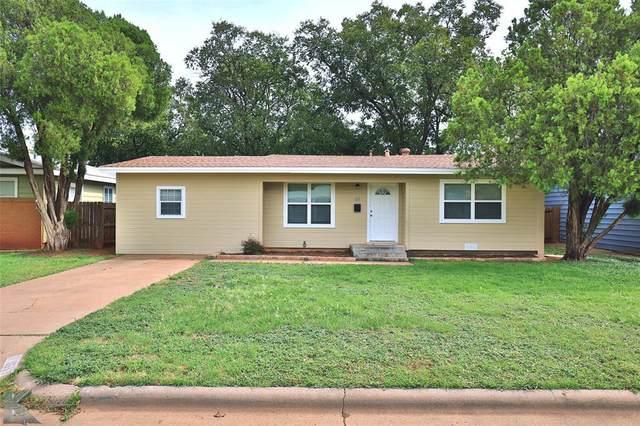1617 Bridge Avenue, Abilene, TX 79603 (MLS #14688928) :: The Kimberly Davis Group