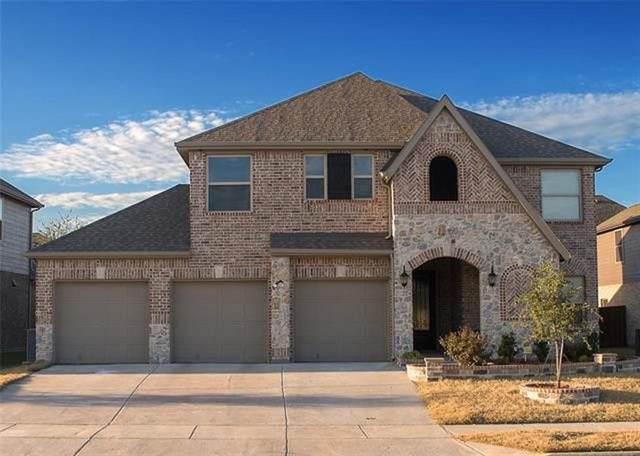 704 Yarrow Street, Little Elm, TX 75068 (MLS #14689179) :: 1st Choice Realty
