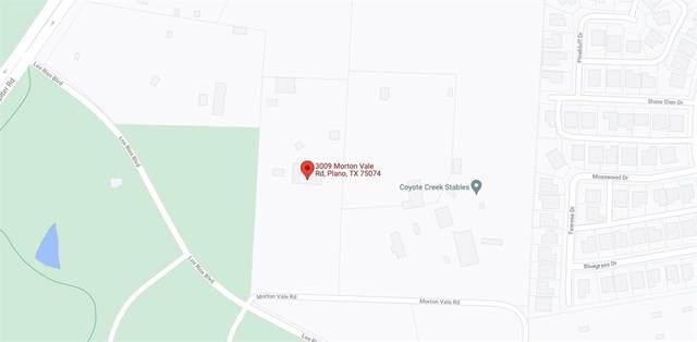 3009 Morton Vale Road, Plano, TX 75074 (MLS #14689280) :: Craig Properties Group