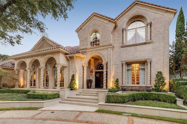 16 Sarah Nash Court, Dallas, TX 75225 (MLS #14689825) :: The Star Team | Rogers Healy and Associates