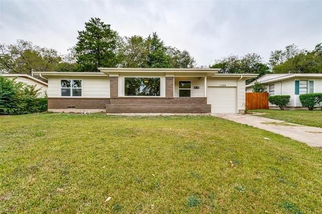 1109 Burleson Street, Grand Prairie, TX 75050 (MLS #14689843) :: Lisa Birdsong Group | Compass