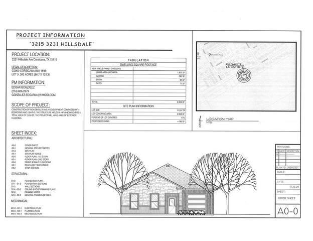3231 Hillsdale Street, Corsicana, TX 75110 (MLS #14689847) :: Trinity Premier Properties
